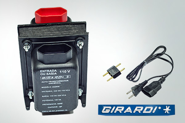 autotransformador 110 127v 127 110v 100VA PRO GIRARDI
